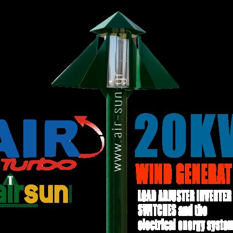 AIR Turbo – 20 KW